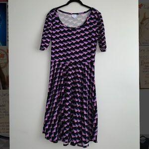 Lularoe Nicole style size L dress
